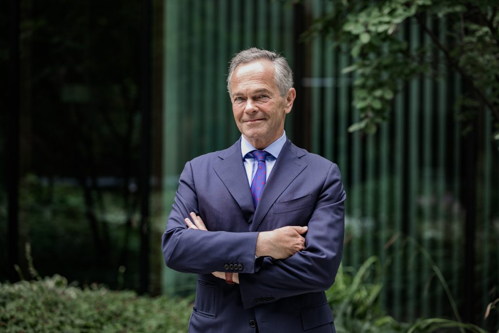 Andreas Treichl, Chairman of the Supervisory Board of ERSTE Foundation (c) Jakob Polacsek