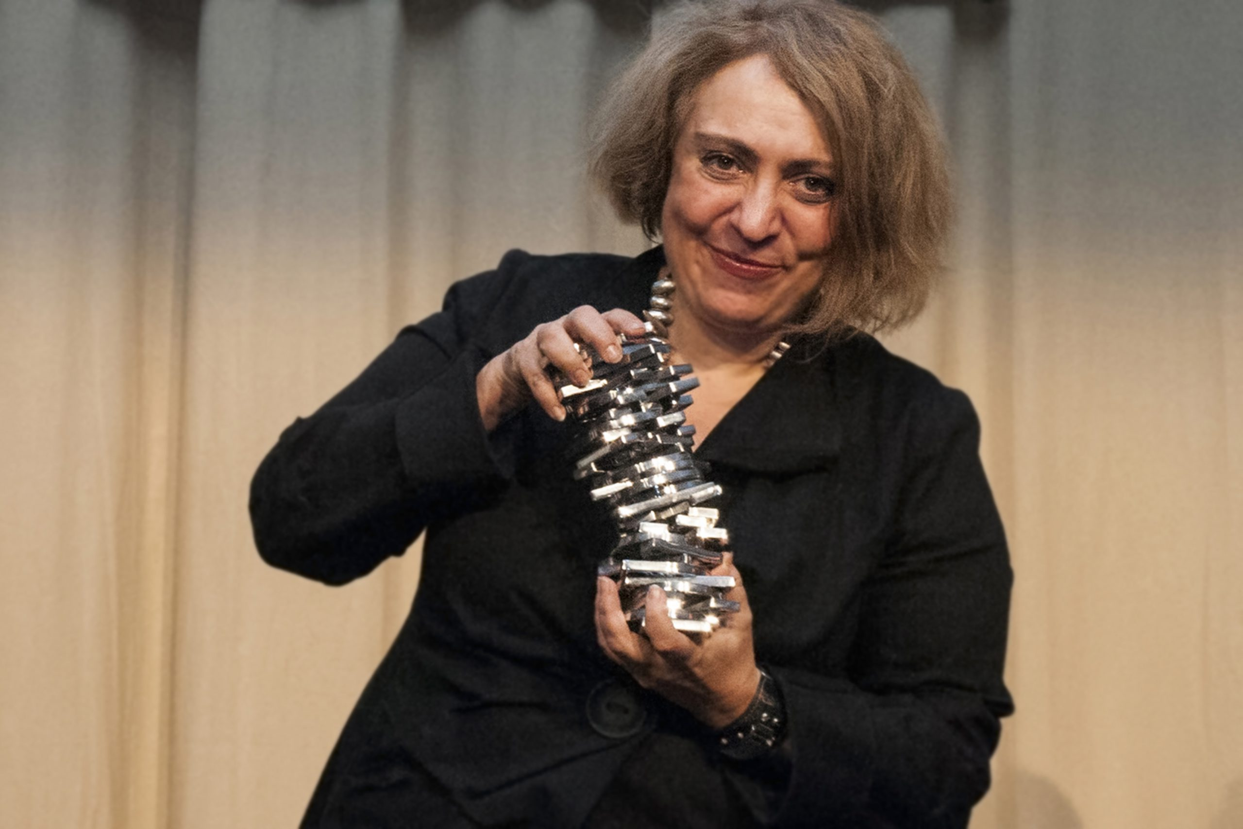 Ekaterina Degot, winner of the Igor Zabel Award for Culture and Theory 2014. Photo: Barbara Zeidler