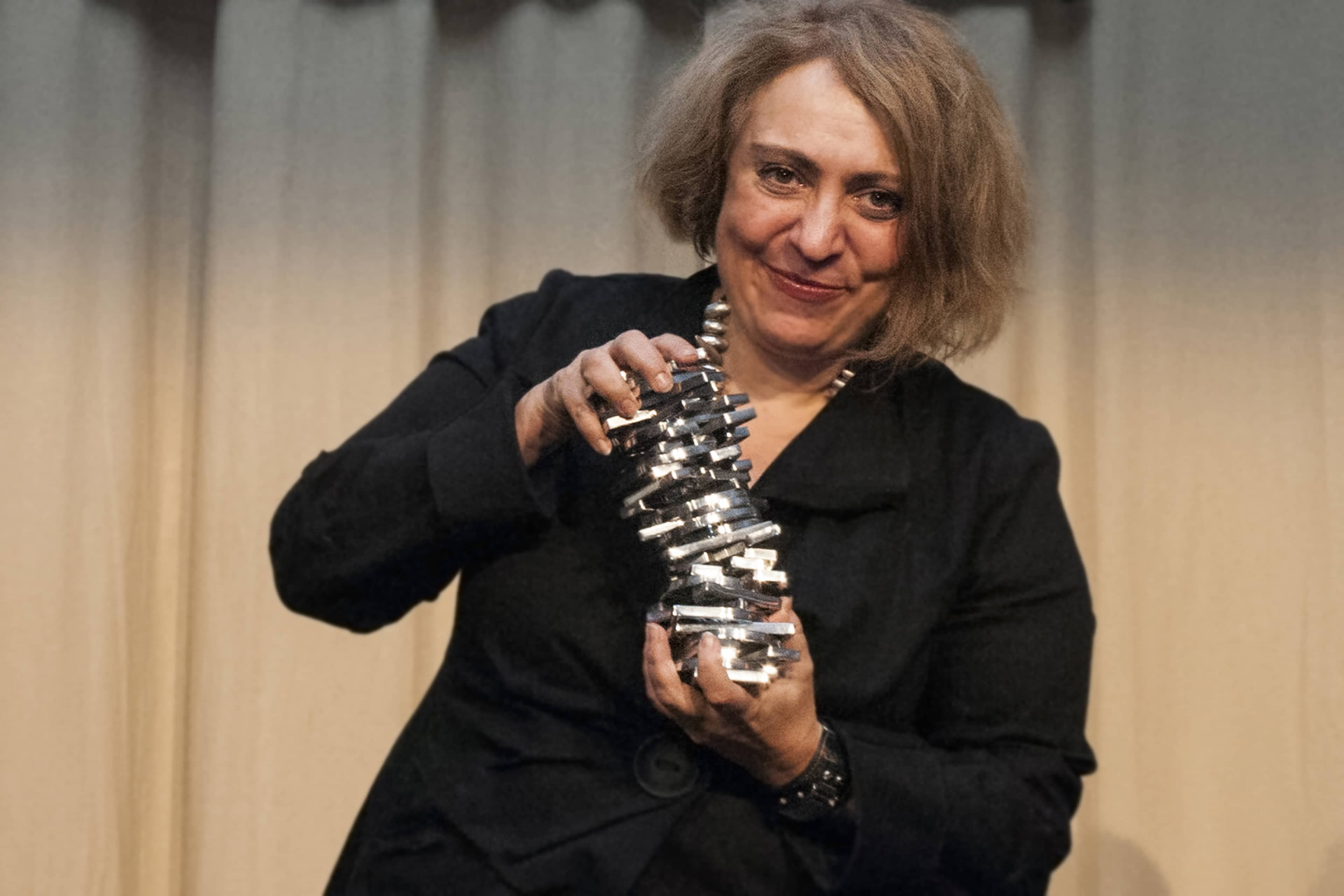 Ekaterina Degot, winner of the Igor Zabel Award for Culture and Theory 2014