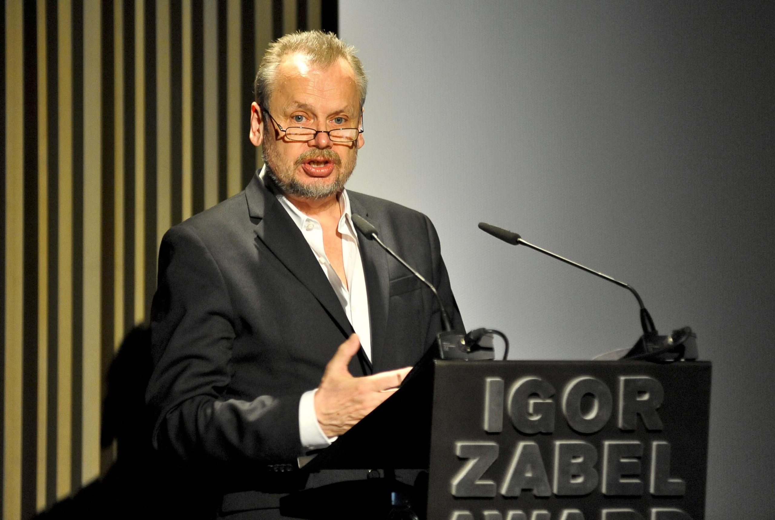 Piotr Piotrowski, winner of the Igor Zabel Award for Culture and Theory 2010. Photo: David Campos