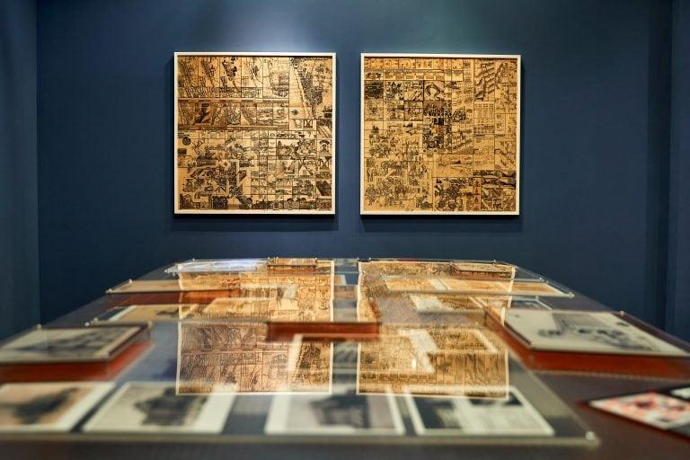 The City of Tomorrow, exhibition view. Photo: Ewgenij Bekarew / Goethe-Institut Novosibirsk