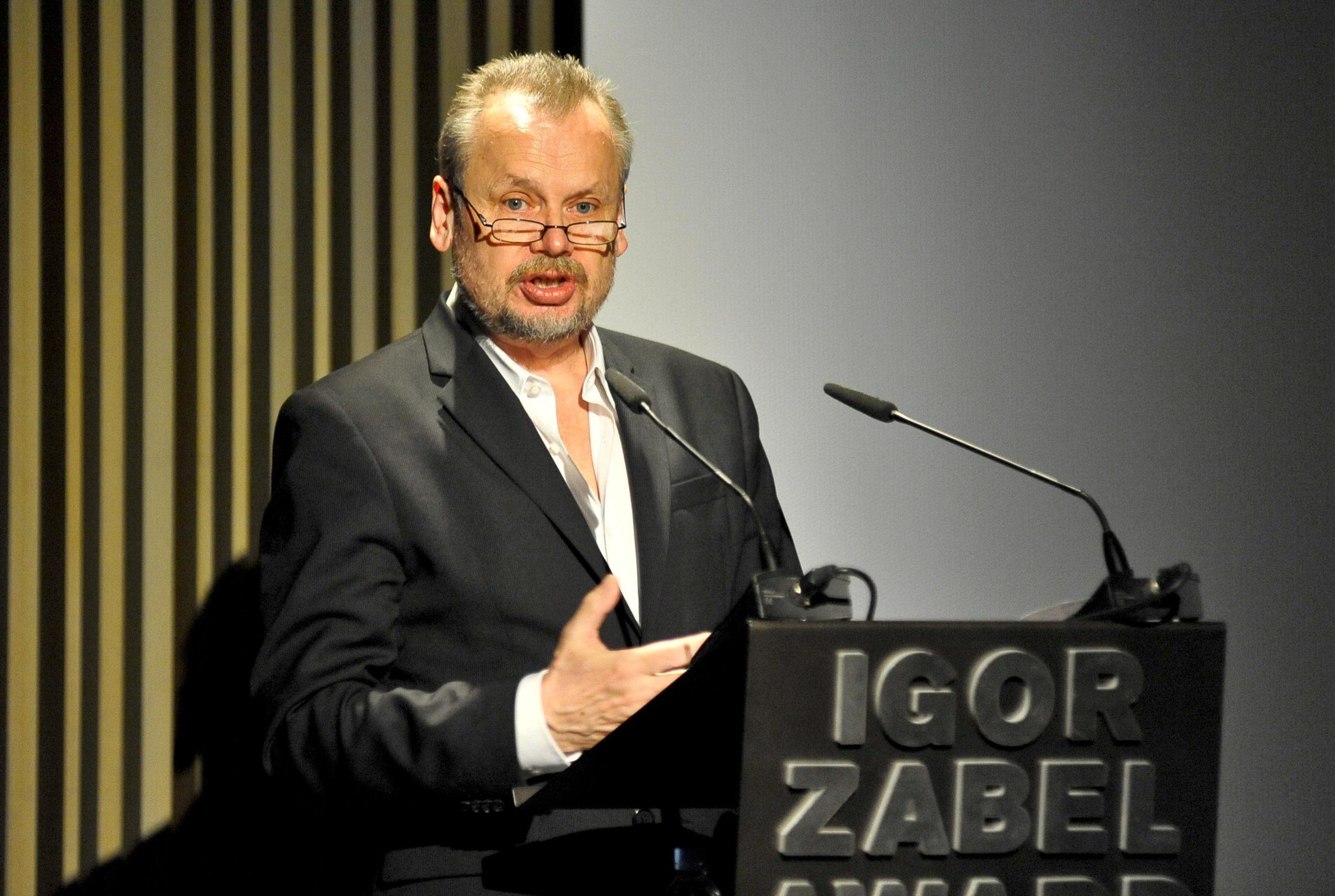Piotr Piotrowski, winner of the Igor Zabel Award for Culture and Theory 2010. Photo: David Campos