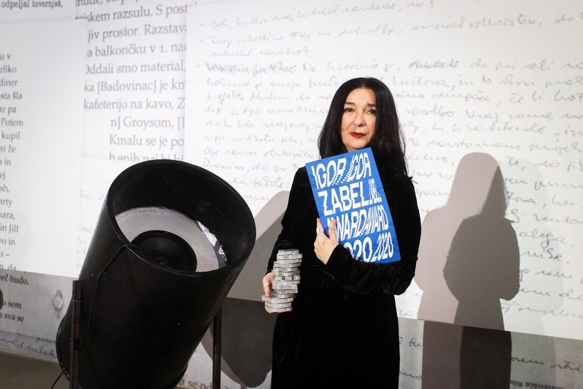 Zdenka Badovinac, winner of the Igor Zabel Award for Culture and Theory 2020. Photo: Nada Žgank