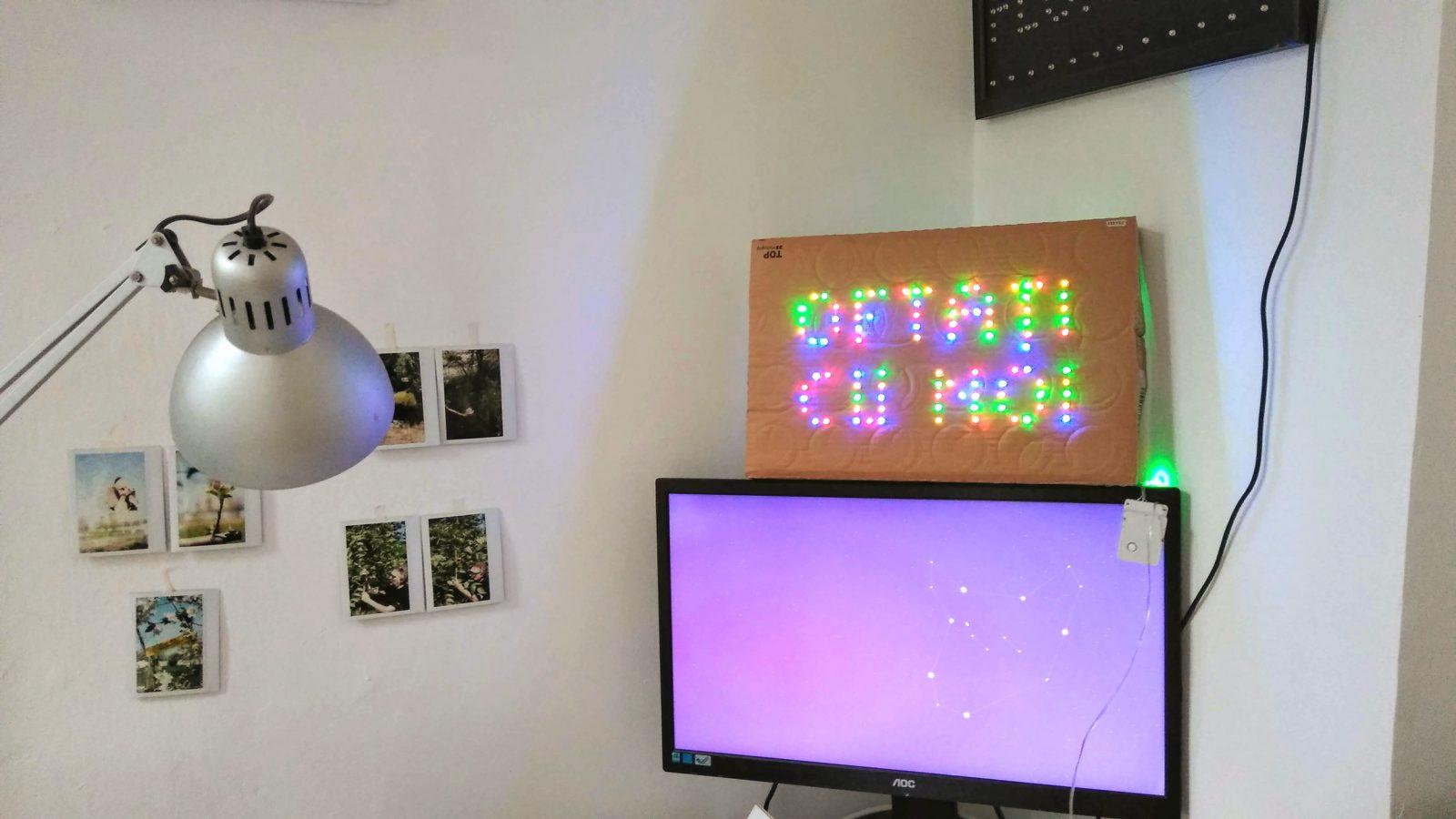 Photo: Claudiu Cobilanschi, vedere din atelier/ view from the studio.